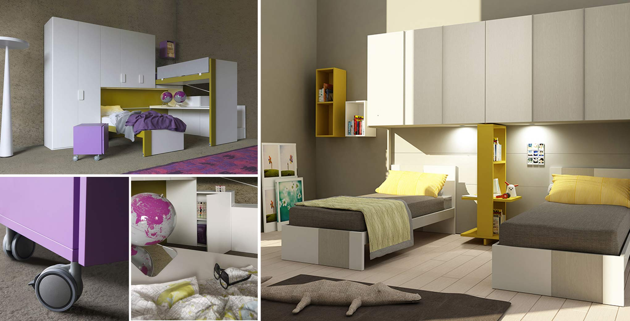 # CHILDREN'S BEDROOM 'NATURAL'